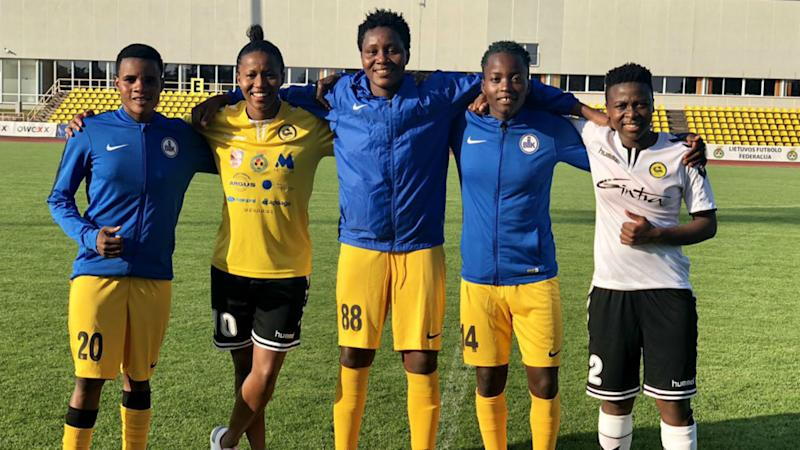14 Africans on parade as Uefa Women's Champions League gets underway
