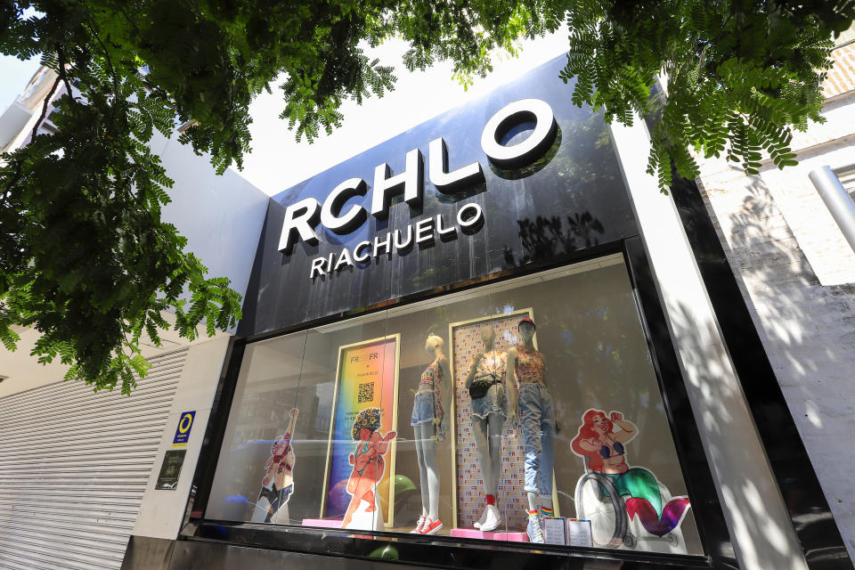 Sao Paulo, Brazil - feb 16, 2020 - Facade of Riachuelo retail shop at Paulista Avenue. Company listed on B3, the Stock Exchange in Brazil
