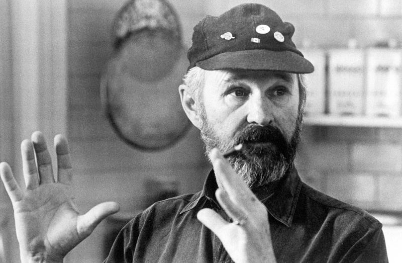"""In this January 1988 file photo, Toronto-born director and co-producer Norman Jewison is shown during filming of """"Moonstruck,"""" in Toronto, Canada. (AP Photo, File)"""