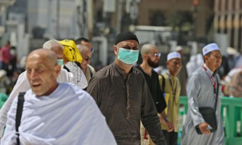 Saudi Arabia closes two holiest shrines to foreigners as coronavirus fears grow