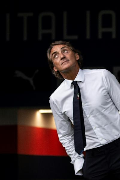 'Reminiscing': Roberto Mancini was back at Bologna's Stadio Dall'Ara where he played his first Serie A game aged 16
