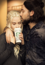 """<p>Remember that moment in <em>GOT </em>when the Starbucks cup was left out? So do these Khaleesi and Jon Snow lookalikes. Dress up as the iconic pair this year for Halloween.<br></p><p><a class=""""link rapid-noclick-resp"""" href=""""https://www.amazon.com/Daenerys-Targaryen-Cosplay-Thrones-Season/dp/B075K36SRG/?tag=syn-yahoo-20&ascsubtag=%5Bartid%7C10072.g.27868801%5Bsrc%7Cyahoo-us"""" rel=""""nofollow noopener"""" target=""""_blank"""" data-ylk=""""slk:SHOP WIG"""">SHOP WIG</a></p>"""