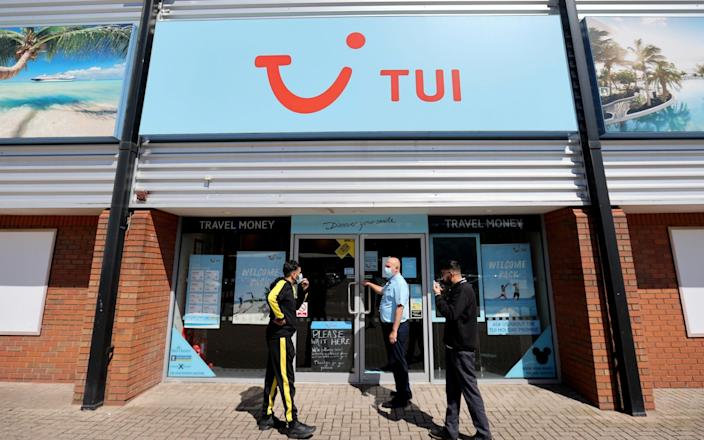 TUI has agreed to refund all customers affected by Covid-19 cancellations - Carl Recine/Reuters