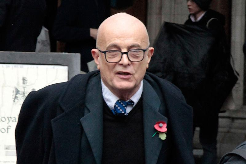 Stephen Shalson outside Central London County Court: Champion News