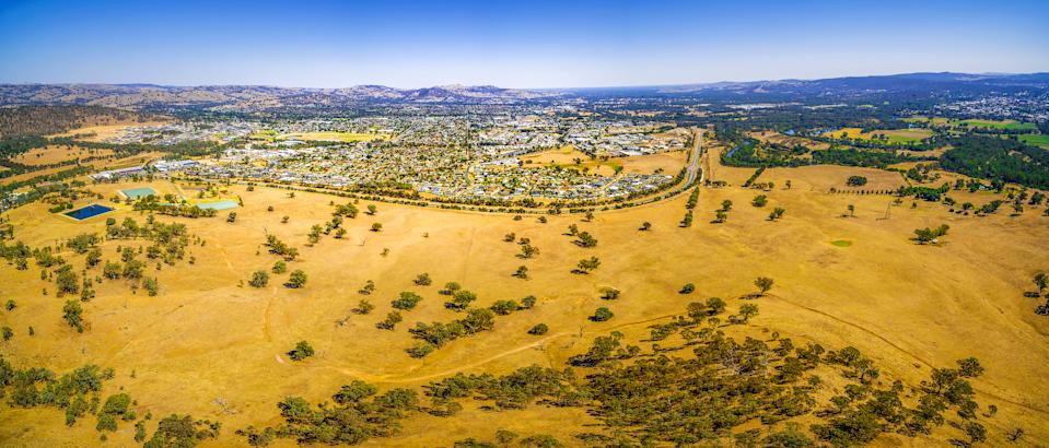 Wodonga, Victoria, would be one of the towns included in the new proposed state. Source: Getty Images