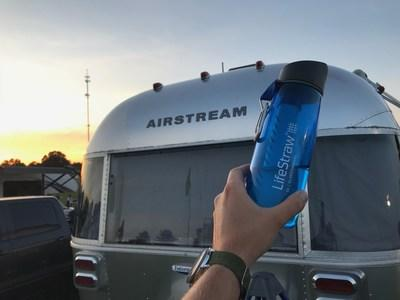 LifeStraw teams with Airstream to deliver Clean Water Across America June - August 2019