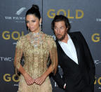 """Actor Matthew McConaughey and model/designer Camila Alves attend the world premiere of """"Gold"""" at the AMC Lincoln Square Cinemas in New York, NY on January 17, 2017. (Photo by Stephen Smith) *** Please Use Credit from Credit Field ***"""