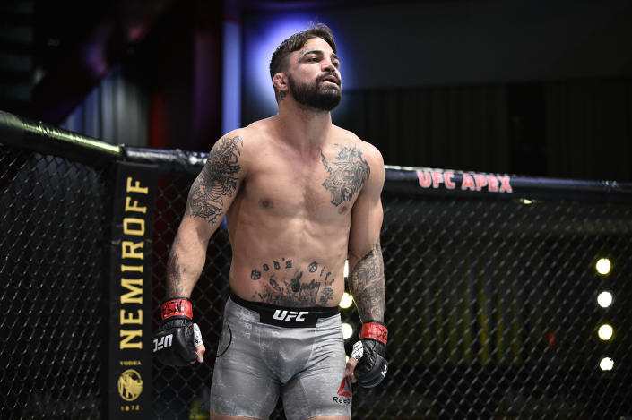 Mike Perry has apologized for his actions in a restaurant altercation. (Photo by Chris Unger/Zuffa LLC)