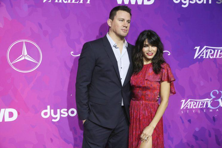 Channing Tatum and Jenna Dewan-Tatum.