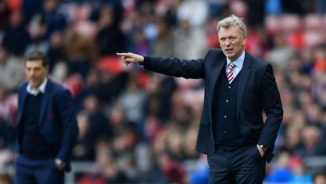 "<p>Sunderland and West Ham are probably the two worst teams in the division at present in terms of form, which is why it was quite a surprise to see the two sides contest a thrilling encounter at the Stadium of Light on Sunday.</p> <br><p>The hosts will have felt hard done by not to take all three points by the end as West Ham looked totally out of sorts after Sam Byram received a red-card in stoppage-time.</p> <br><p>David Moyes' side hadn't scored in seven games before Saturday but they were helped by two goalkeeping howlers from West Ham's Darren Randolph, who did all he could to help Sunderland's survival hopes.</p> <br><p>Sunderland are now nine points away from safety, leading David Moyes to pray to the <a href=""http://www.90min.com/posts/4872111-sunderland-boss-david-moyes-admits-he-needs-football-gods-to-shine-on-his-side-to-avoid-relegation"" rel=""nofollow noopener"" target=""_blank"" data-ylk=""slk:'football gods' to avoid almost-certain relegation"" class=""link rapid-noclick-resp"">'football gods' to avoid almost-certain relegation</a>.</p>"