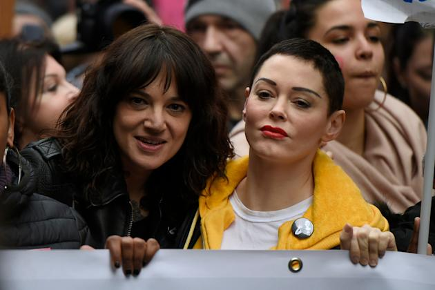 Asia Argento denies assault claim, says Anthony Bourdain paid off actor