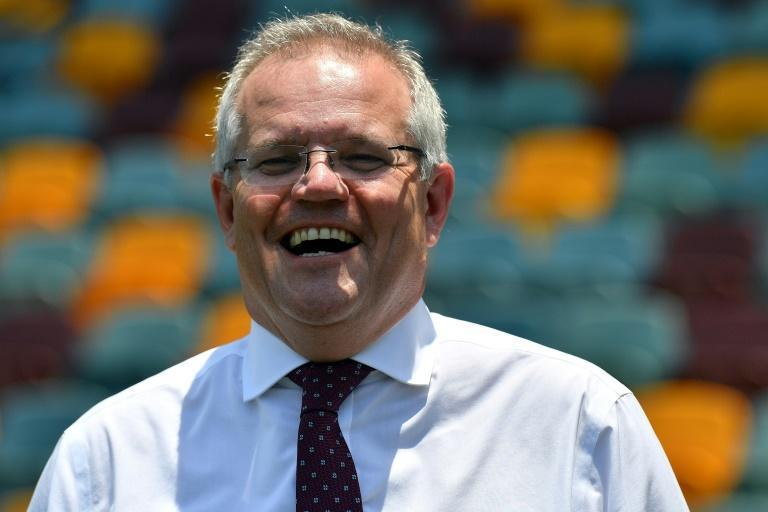 Australia's slow-growing economy was the biggest issue for voters at the poll in May, which was won by the conservative Liberal Party led by Prime Minister Scott Morrison (AFP Photo/Saeed KHAN)