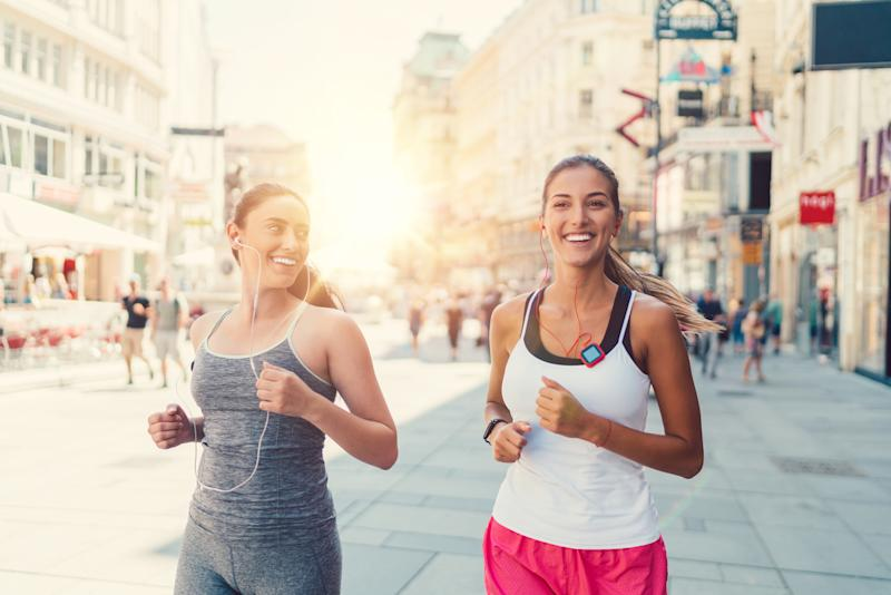 Running at lunch time during the hottest part of the day can be a mistake [Photo: Getty]