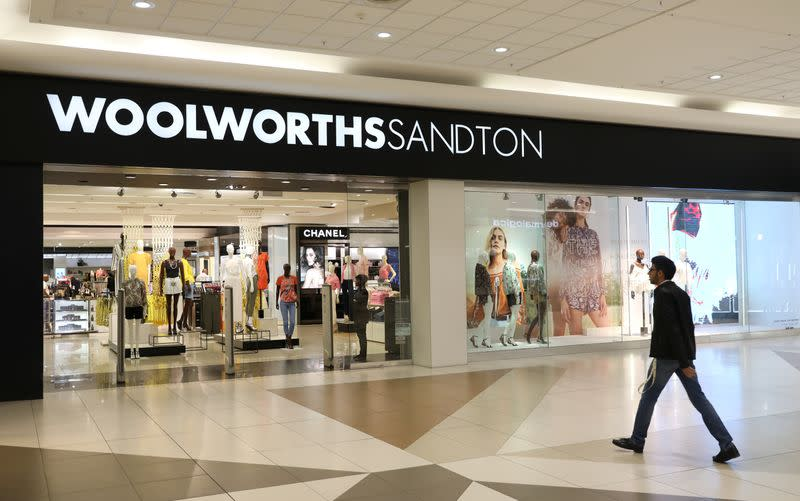 South Africa's Woolworths warns of likely 20% profit fall