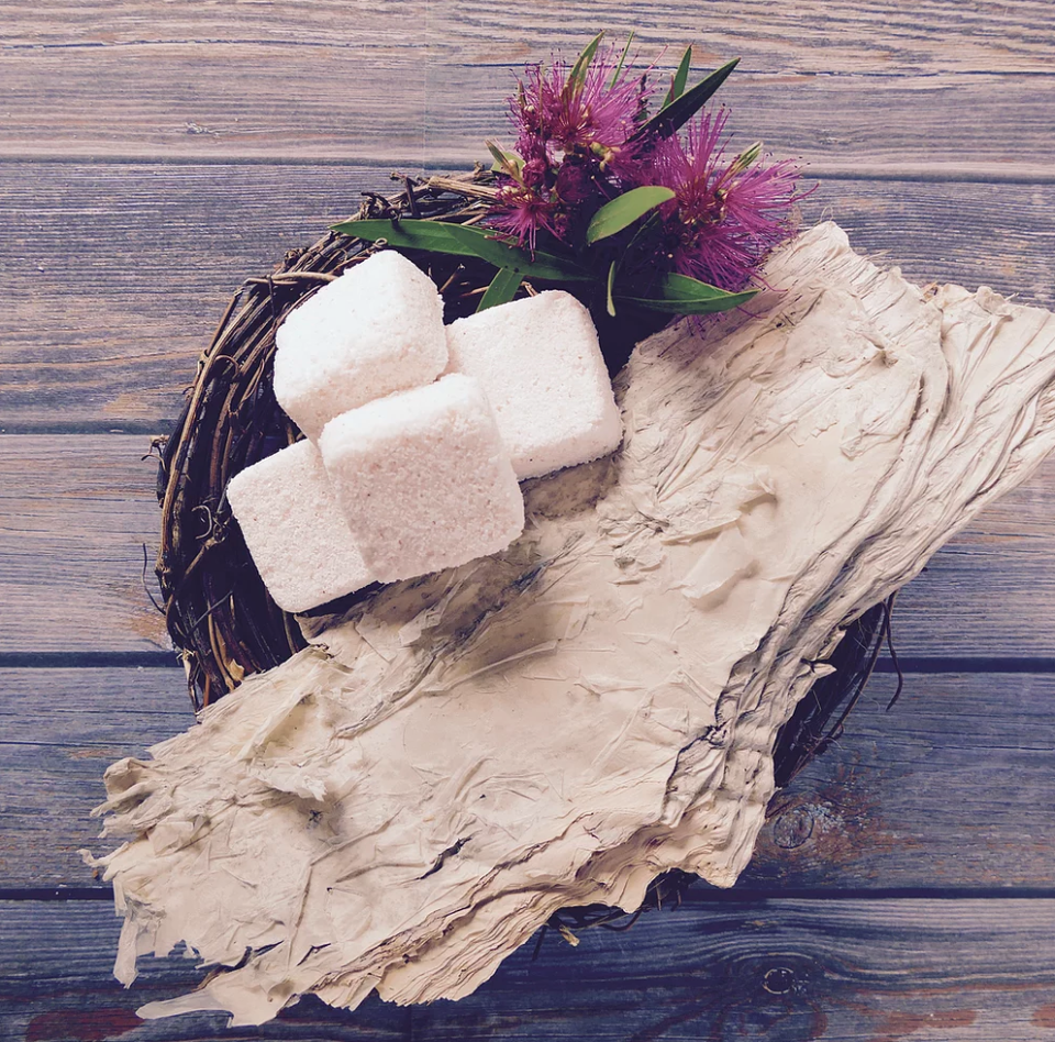 Environmentally friendly dishwashing tablets made from Australian ingredients