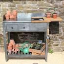 """<p>This lightweight potting table has useful carry handles, and lots of storage with two drawers, a shelf and an extendable worktop that reveals a handy compost store. It's made from galvanised steel and recycled teak for durability. </p><p><a class=""""link rapid-noclick-resp"""" href=""""https://www.wilstone.com/shop/view/8431-Potting-Table"""" rel=""""nofollow noopener"""" target=""""_blank"""" data-ylk=""""slk:BUY NOW"""">BUY NOW</a> <strong>£285 </strong></p>"""