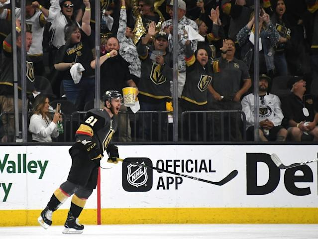 NHL-Play-offs: Neuling Golden Knights geht in Führung