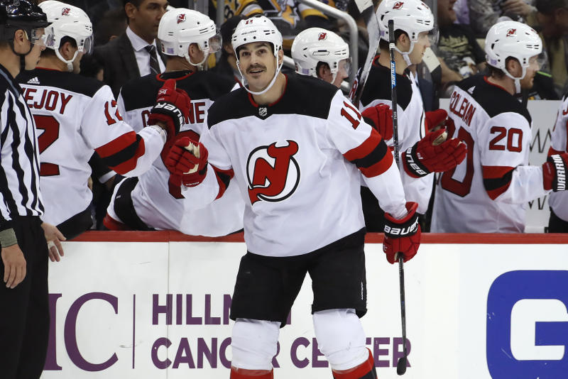 Boyle scores first career hat trick on Hockey Fights Cancer Night 970719365