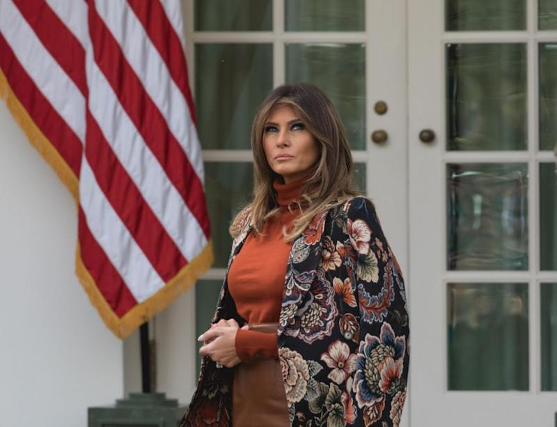 People keep saying she doesn't want to be First Lady. Photo: Getty
