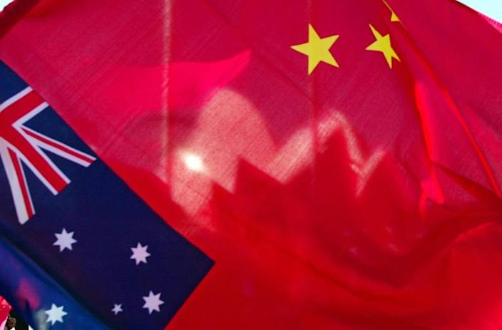 The operation is another signal of Australian authorities' new willingness to tackle allegations of Chinese subversion of Australian politics (AFP Photo/TORSTEN BLACKWOOD)