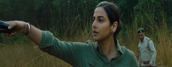 A still from the Amazon Prime release featuring Vidya Balan.