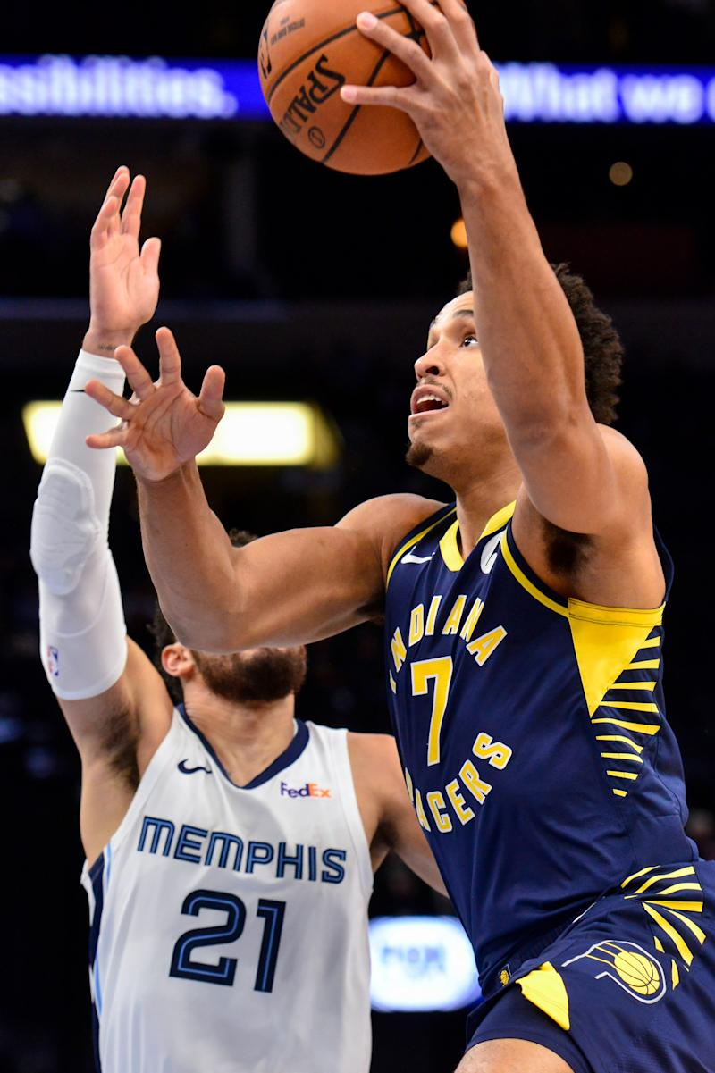 Balanced scoring carries Pacers past short-handed Grizzlies