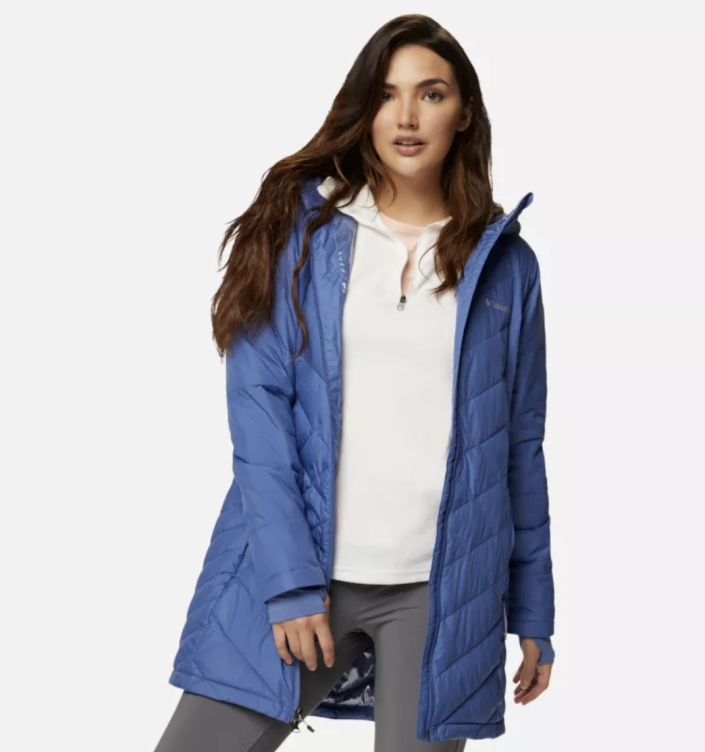 Women's Heavenly™ Long Hooded Jacket - Columbia, from $75 (originally $150)