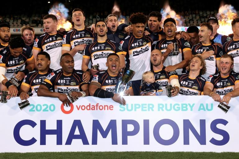 The ACT Brumbies won the inaugural Super Rugby AU competition in September 2020