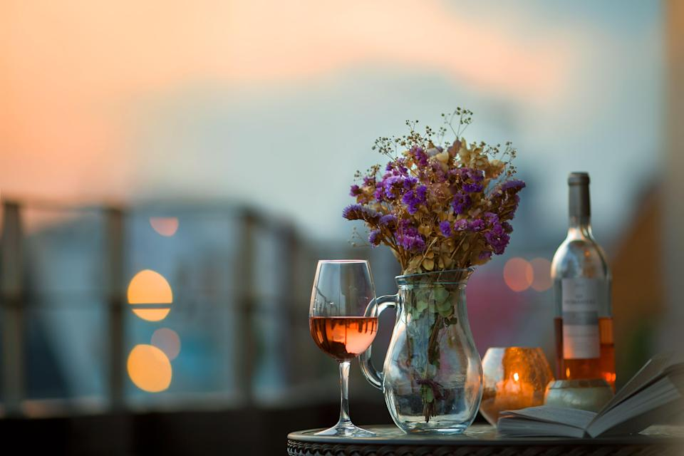 You've got half a bottle of wine left –now what? (Photo: YuriF via Getty Images)