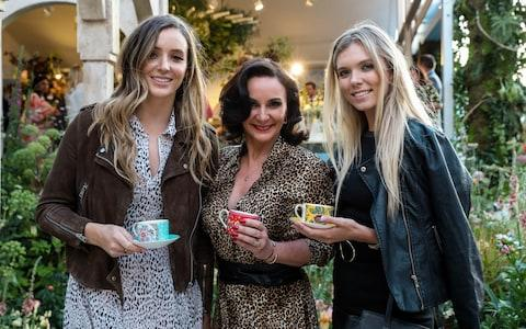 Laura Robson, Shirley Ballas and Katie Boulter attend the Wedgewood 260th Anniversary Party during the Chelsea Flower Show at The Royal Hospital Chelsea on May 21, 2019 in London, England. - Credit: Getty Images