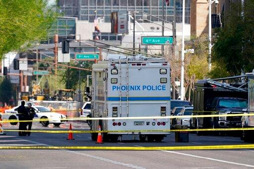 Phoenix Courthouse Shooting Suspect Agrees To Remain Jailed