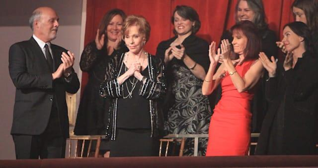 Humor Prize Carol Burnett (Carol Burnett is honored with the Mark Twain Prize at the Kennedy Center on Sunday, Oct. 20, 2013 in