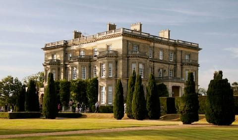 Hedsor House, scene of the silent retreat - Credit: getty