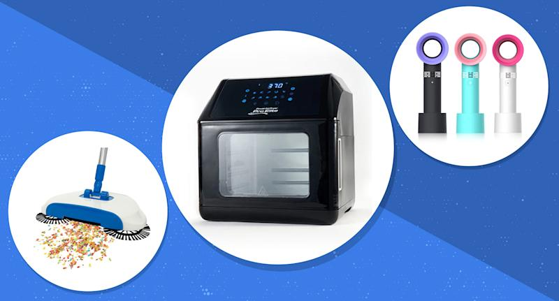 From air fryers to white noise machines, the best appliances and home products are on sale right now. (Photo: Yahoo Lifestyle Store)