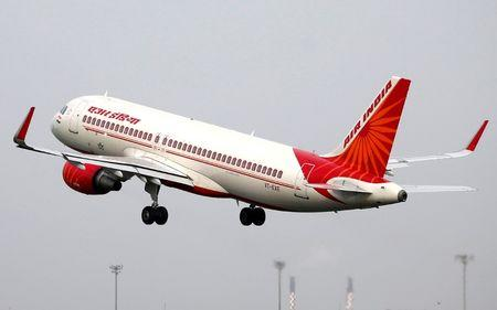 FILE PHOTO: An Air India aircraft takes off from the Sardar Vallabhbhai Patel International Airport in Ahmedabad