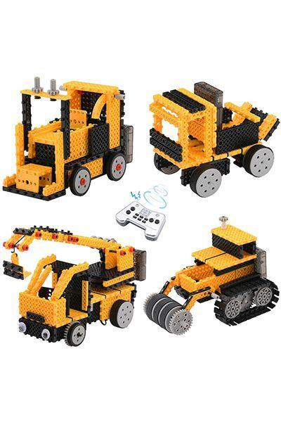 """<p>$36</p><p><a rel=""""nofollow noopener"""" href=""""https://www.amazon.com/Remote-Control-Building-TOYARD-Educational/dp/B075L4T6JP/ref=pd_ybh_a_32"""" target=""""_blank"""" data-ylk=""""slk:SHOP NOW"""" class=""""link rapid-noclick-resp"""">SHOP NOW</a></p><p>Get their young minds working (and away from the TV!) with this DIY vehicle set. They can control the robots remotely after they're built.</p>"""