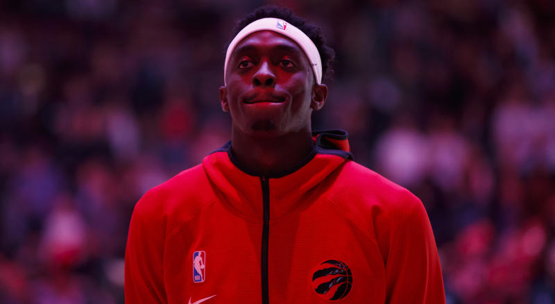 Following an impressive start to his fourth season in the league, Pascal Siakam of the Toronto Raptors was with his brother when he got the big news. (Photo by Cole Burston/Getty Images)