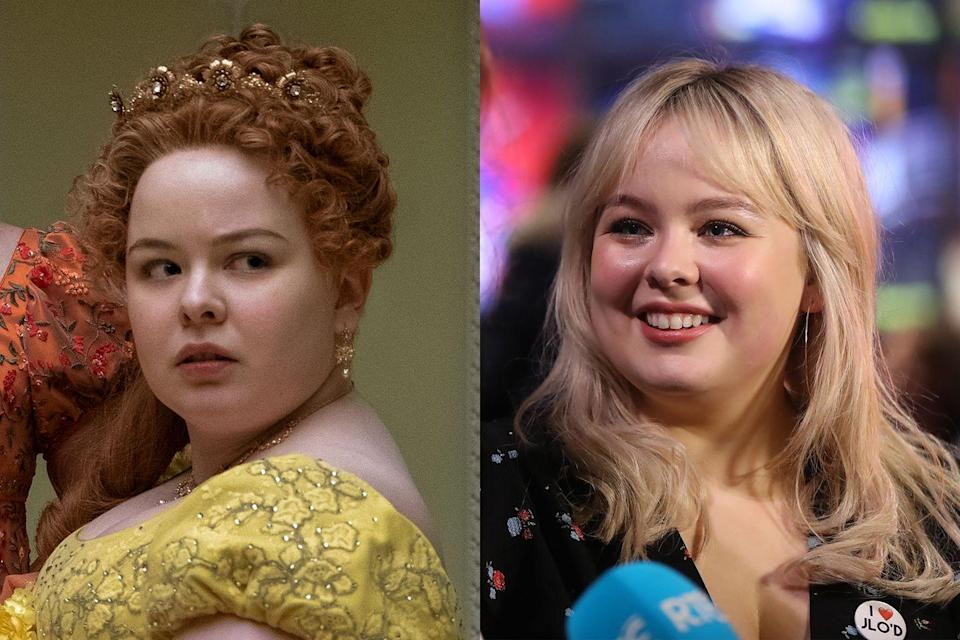 <p>Nicola Coughlan, the breakout actress known for her role in <em>Derry Girls</em>, plays Penelope Featherington, a close friend of Eloise Bridgerton's and the youngest Featherington daughter.</p>