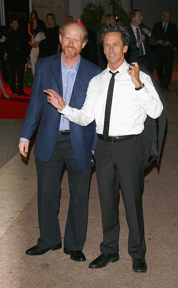 "No Hollywood party is complete without Ron Howard and Brian Grazer! Jean Baptiste Lacroix/<a href=""http://www.wireimage.com"" target=""new"">WireImage.com</a> - July 22, 2007"