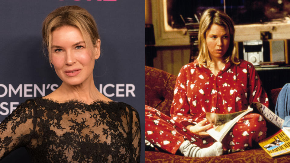 Renée Zellweger thinks she is a lot like Bridget Jones in some ways.(Credit: Morgan Lieberman/FilmMagic/Universal)
