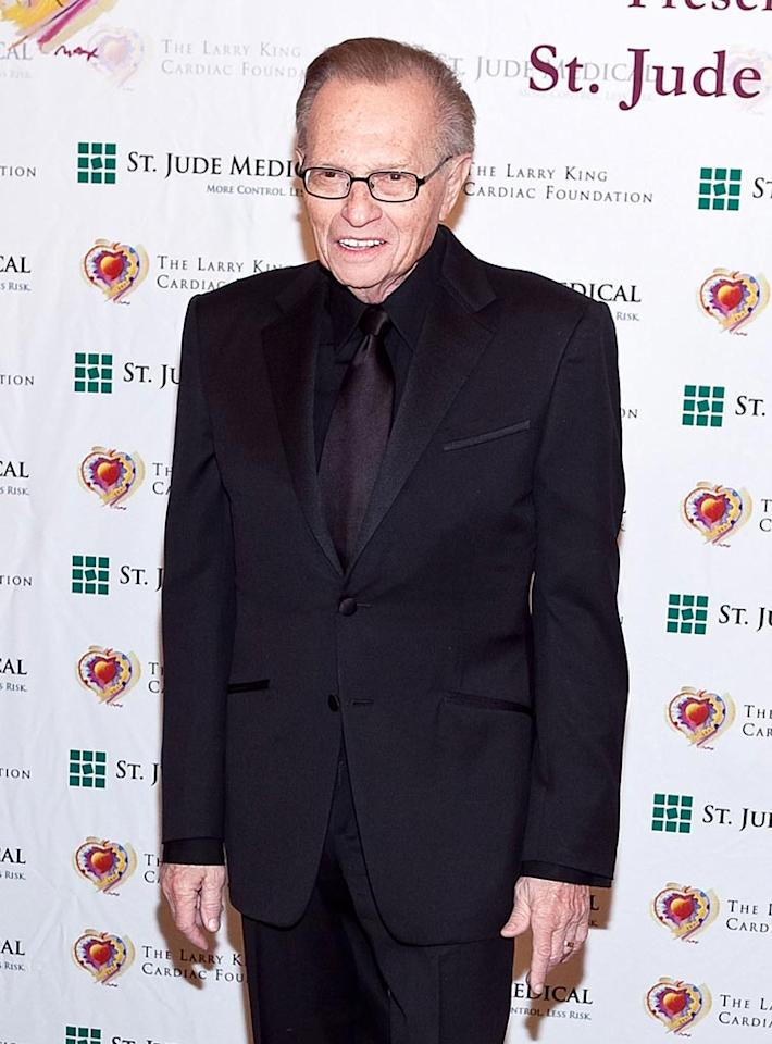 "November 19: Larry King turns 77 Paul Morigi/<a href=""http://www.wireimage.com"" target=""new"">WireImage.com</a> - March 6, 2010"