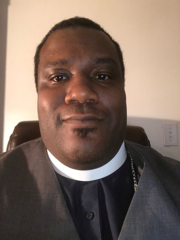 Bishop Donald Harper poses in an undated photograph in Orlando