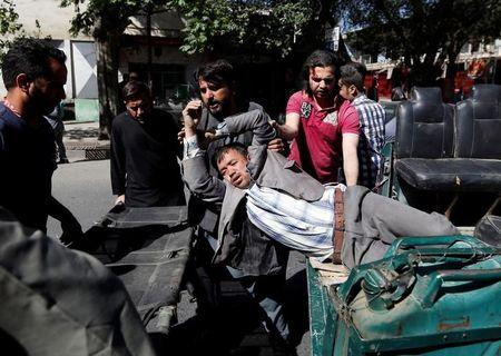 Kabul blast: Huge explosion hits Afghan capital