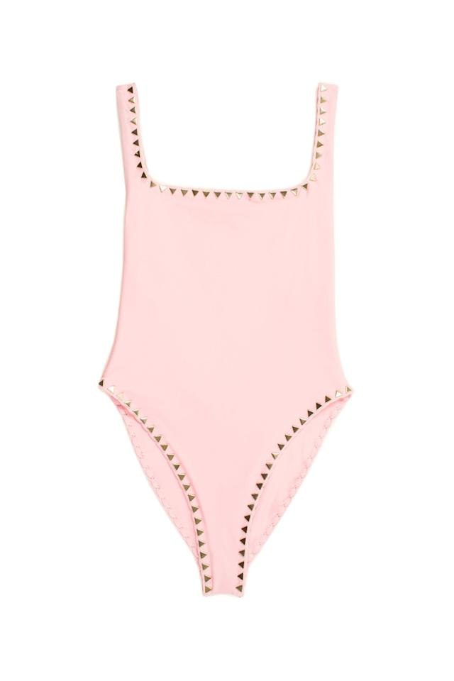 """<p><strong>Same</strong></p><p>samelosangeles.com</p><p><strong>$340.00</strong></p><p><a href=""""https://www.samelosangeles.com/collections/all/products/the-goddess-one-piece-pink?variant=40358430985"""" target=""""_blank"""">Shop Now</a></p><p>This brand has really unique suits. They even sell <a href=""""https://www.samelosangeles.com/collections/all/products/the-striped-belt-red-blanc?variant=40358446217"""" target=""""_blank"""">a separate belt</a> you can use an accessory with other suits.</p>"""