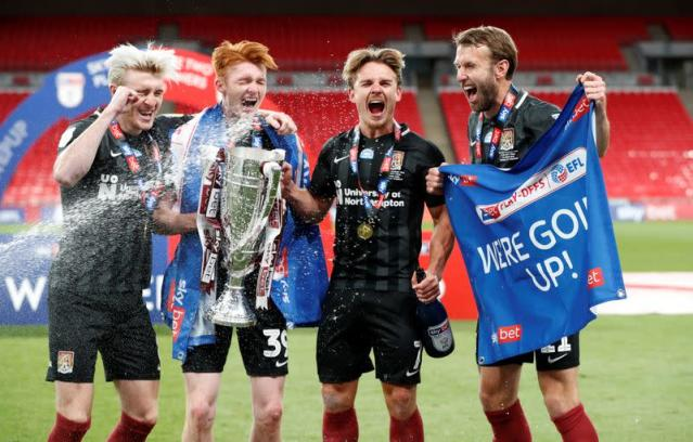 League Two Play-Off Final - Exeter City v Northampton Town