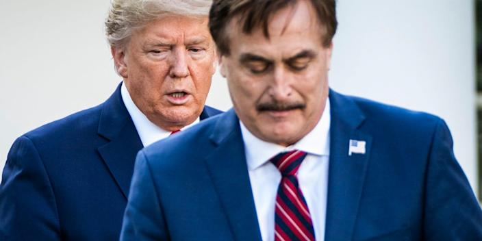 Mike Lindell Donald Trump