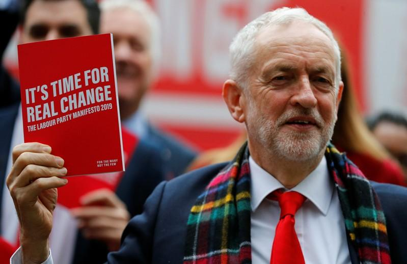 Labour Party launches its party manifesto in Birmingham