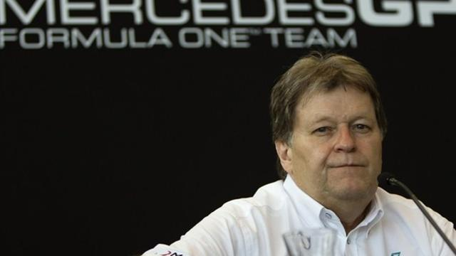 Formula 1 - Haug 'responsible' for Mercedes failure