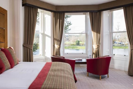 Luxury boutique Glenmoriston Townhouse (Glenmoriston Townhouse Hotel Inverness)