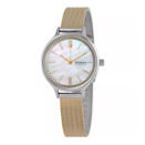 """Mixing metals? Yes, please. This sleek watch can easily pass for a bracelet and will look great with your existing jewelry. $87, Urban Outfitters. <a href=""""https://www.urbanoutfitters.com/shop/skagen-anita-quartz-mother-of-pearl-dial-ladies-watch-skw2908"""" rel=""""nofollow noopener"""" target=""""_blank"""" data-ylk=""""slk:Get it now!"""" class=""""link rapid-noclick-resp"""">Get it now!</a>"""